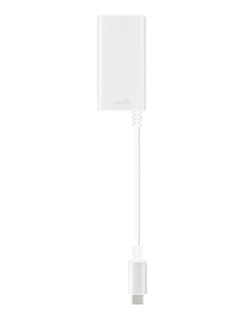 Moshi USB-C / Gigabit Ethernet Gümüş Renk Çevirici Gümüş